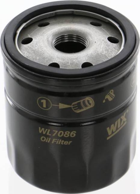 WIX Filters WL7086 - Oil Filter uk-carparts.co.uk