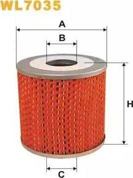 WIX Filters WL7035 - Oil Filter uk-carparts.co.uk