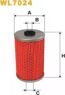 WIX Filters WL7024 - Oil Filter uk-carparts.co.uk