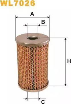 WIX Filters WL7026 - Hydraulic Filter, steering system uk-carparts.co.uk