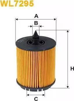 WIX Filters WL7295 - Oil Filter uk-carparts.co.uk