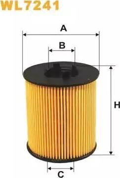 WIX Filters WL7241 - Oil Filter uk-carparts.co.uk